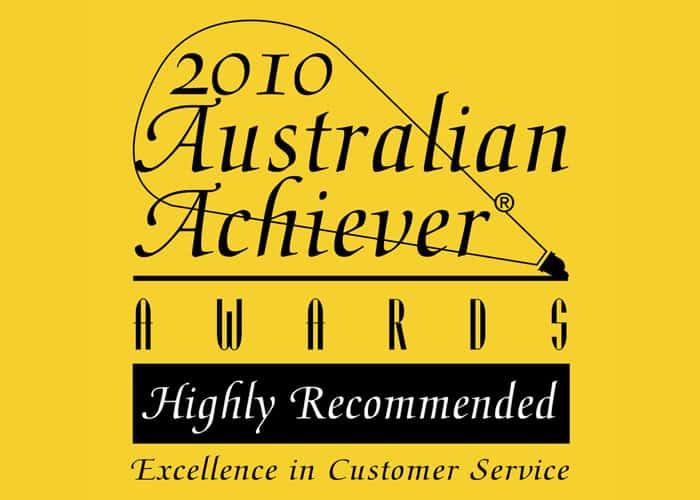 2010 Australian Achiever Award