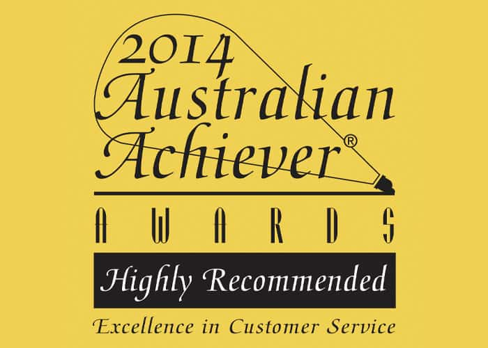 2014 Australian Achiever Award