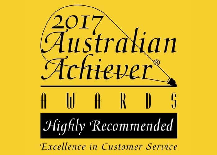 2017 Australian Achiever Award